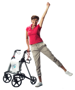 Stretch it out - supported by your Active Walker