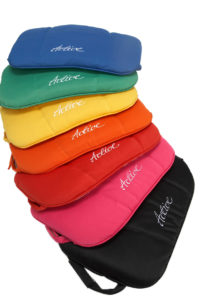 Active rollator cushions rainbow colours