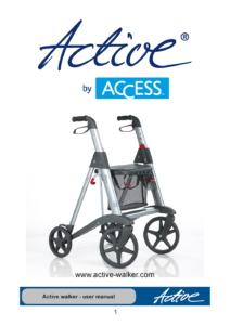 Active Walker Manual 2015_front page